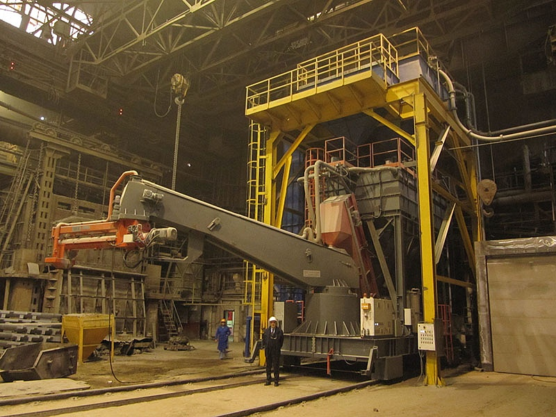 Started-up equipment at one of the Russian enterprises